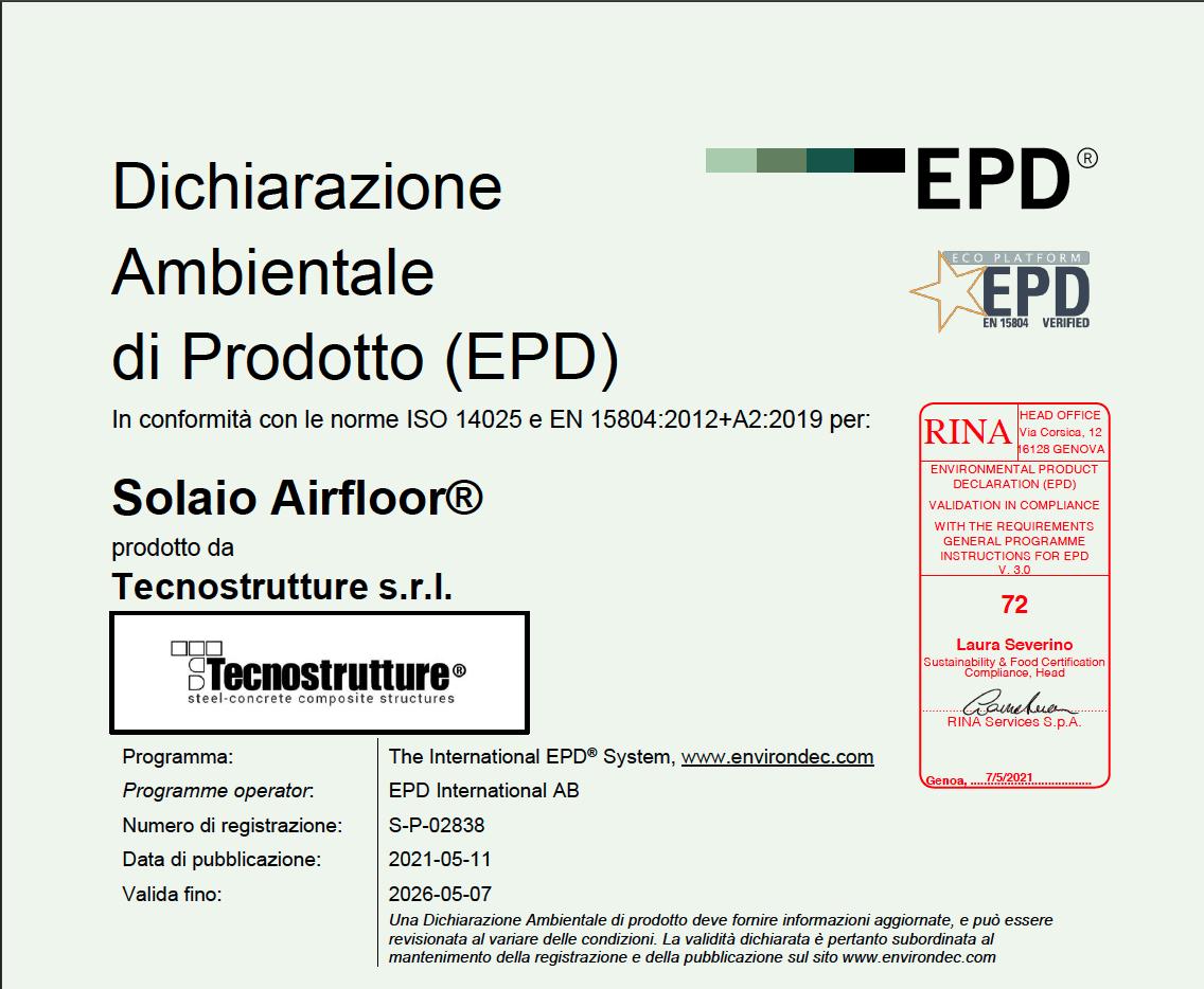 EPD SOLAIO AIRFLOOR