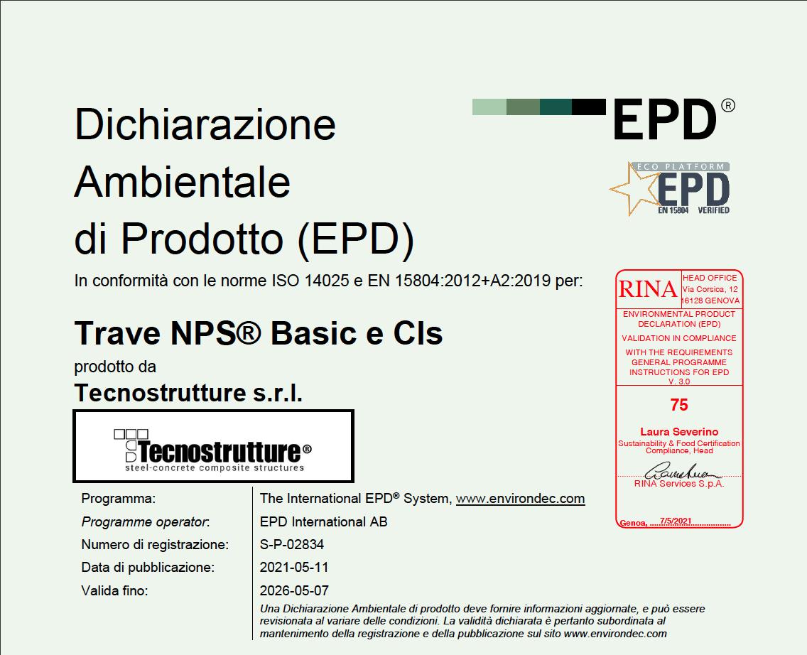 EPD TRAVE NPS
