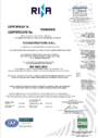 certificato ISO 9001.2021