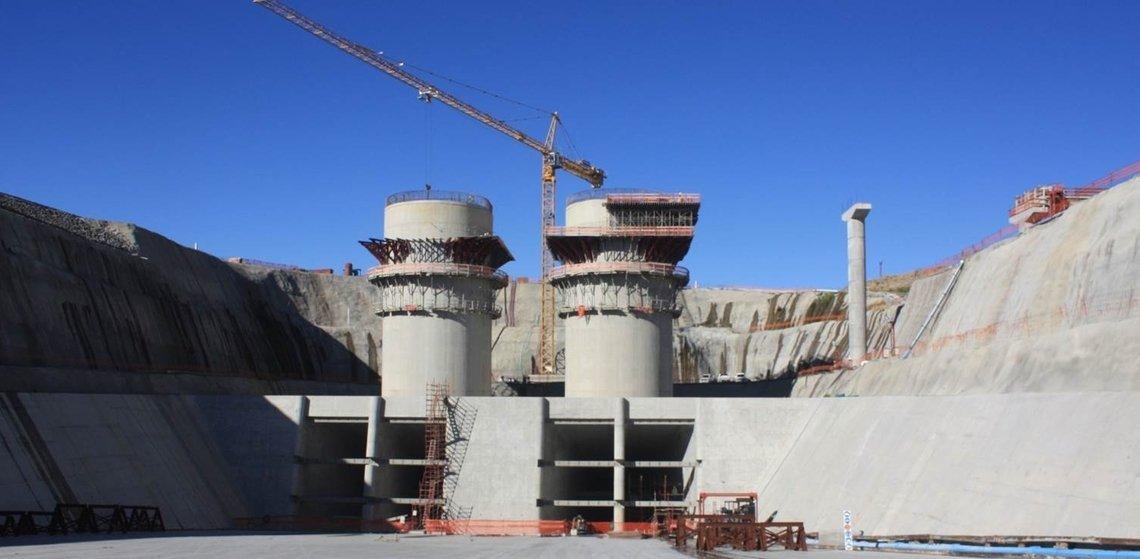 Centrale Hydroélectrique d'Ingula, Sud Afrique