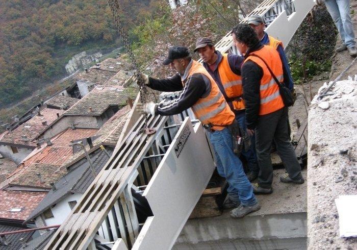 Élargissement routier, Garniga Terme, Trente