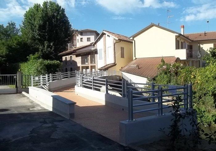 Passerelle cyclo-pédestre, Mortara Pavia