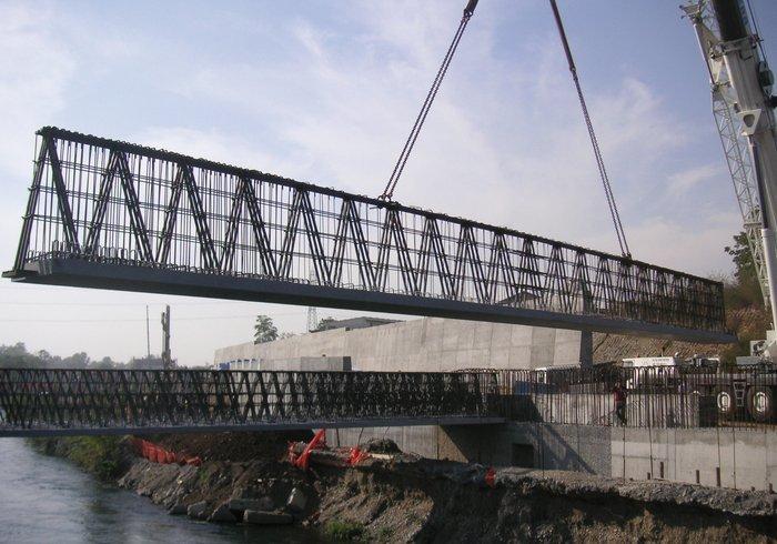 Pont de la Muzza, Treviglio