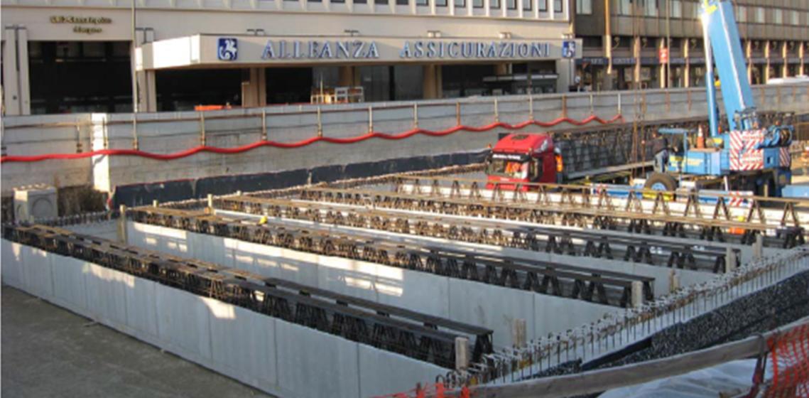 Métro 5, Gare Garibaldi, Milan