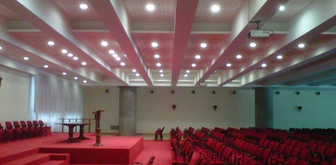 Nouvel auditorium, Sacrofano Rome