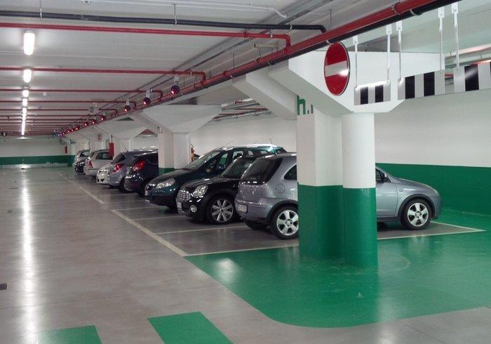 Parking de la siège Calzedonia, Dossobuono di Villafranca, Vérone
