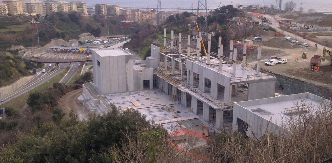 Centrale de trigénération, Gênes