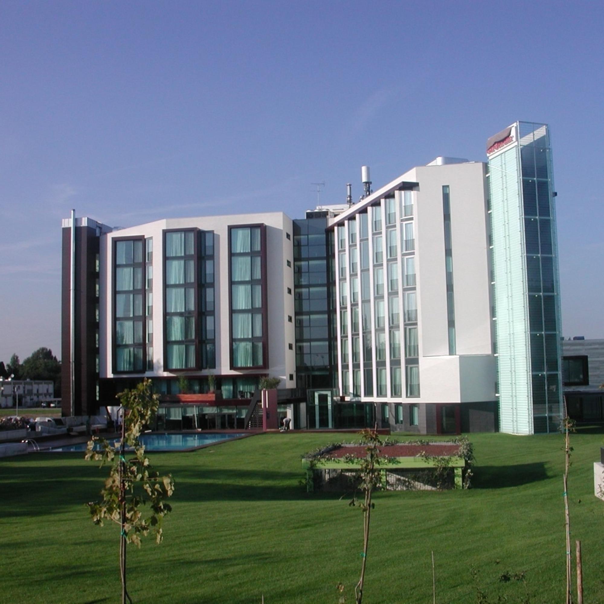 Hilton Garden Inn Venice Edifici Multipiano Referenze Tecnostrutture